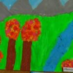 """Конкурс за рисунка """"Аз и природата"""", Ивелина Георгиева"""