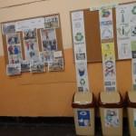 Поставяне на контейнери за разделно събиране на отпадъци