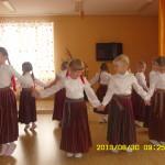 Посрещане с културно - музикална програма в детската градина в град Резекне - Латвия