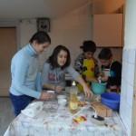 Приготвяне на сладкиш