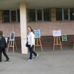 Изложба на ученически рисунки