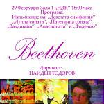 Betoven плакат - Атанас Георгиев и Валентин Радулов 9А