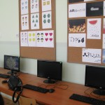 В кабинета по графичен дизайн