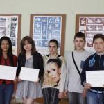 Връчване на сертификати по английски език